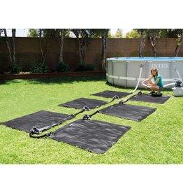 Intex Verwarmingsmatten solar 6 st 1,2x1,2 m PVC zwart