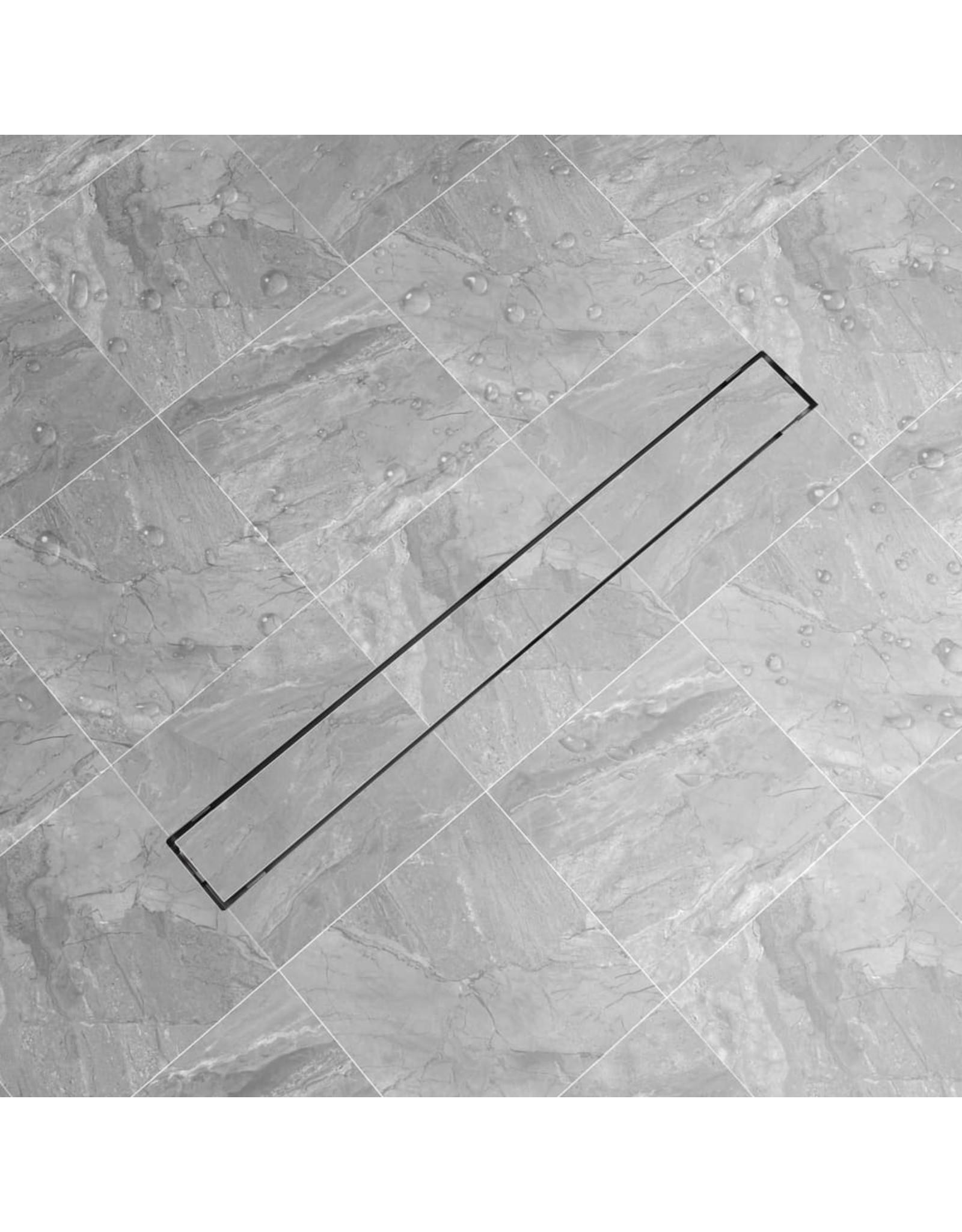 Doucheafvoer rechthoekig 930x140 mm roestvrij staal