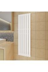 Enkele verwarmingsradiator wit 465 mm x 1500 mm plus handdoekrek