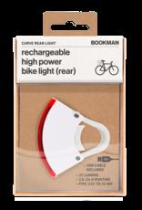 Bookman Curve achterlicht - wit