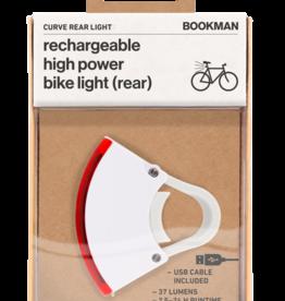 Bookman Curve USB-oplaadbaar achterlicht - wit