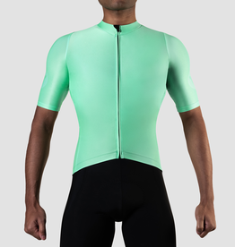 Black Sheep Cycling Men's TEAM SS Jersey - Block Neon Green