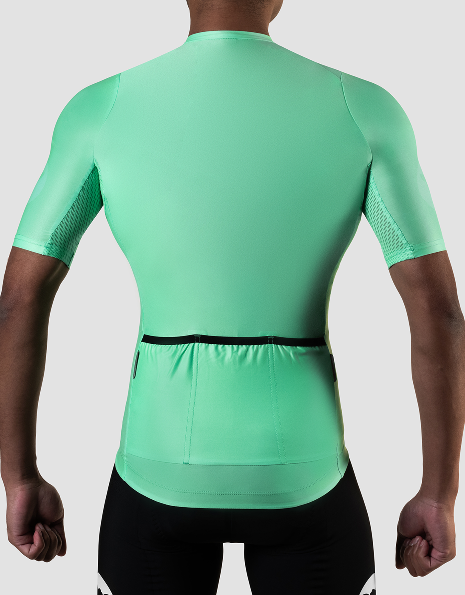 Black Sheep Cycling Men's TEAM jersey - Block Neon Green