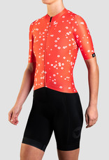 Black Sheep Cycling Women's TEAM SS Jersey - Daisy Warm Red