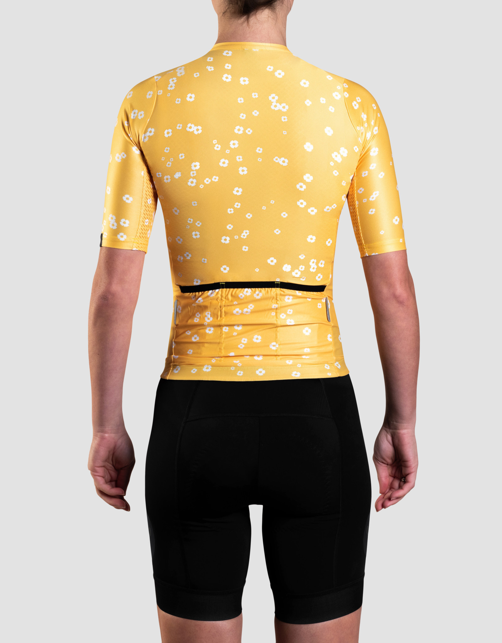 Black Sheep Cycling Women's TEAM SS Jersey - Daisy Yellow