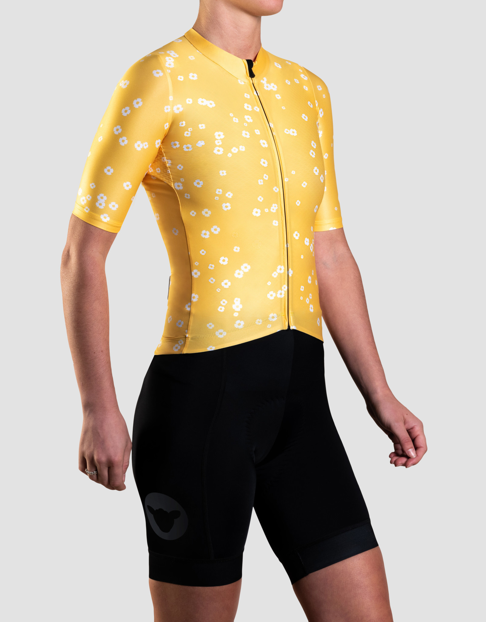 Black Sheep Cycling Women's TEAM jersey - Daisy Yellow