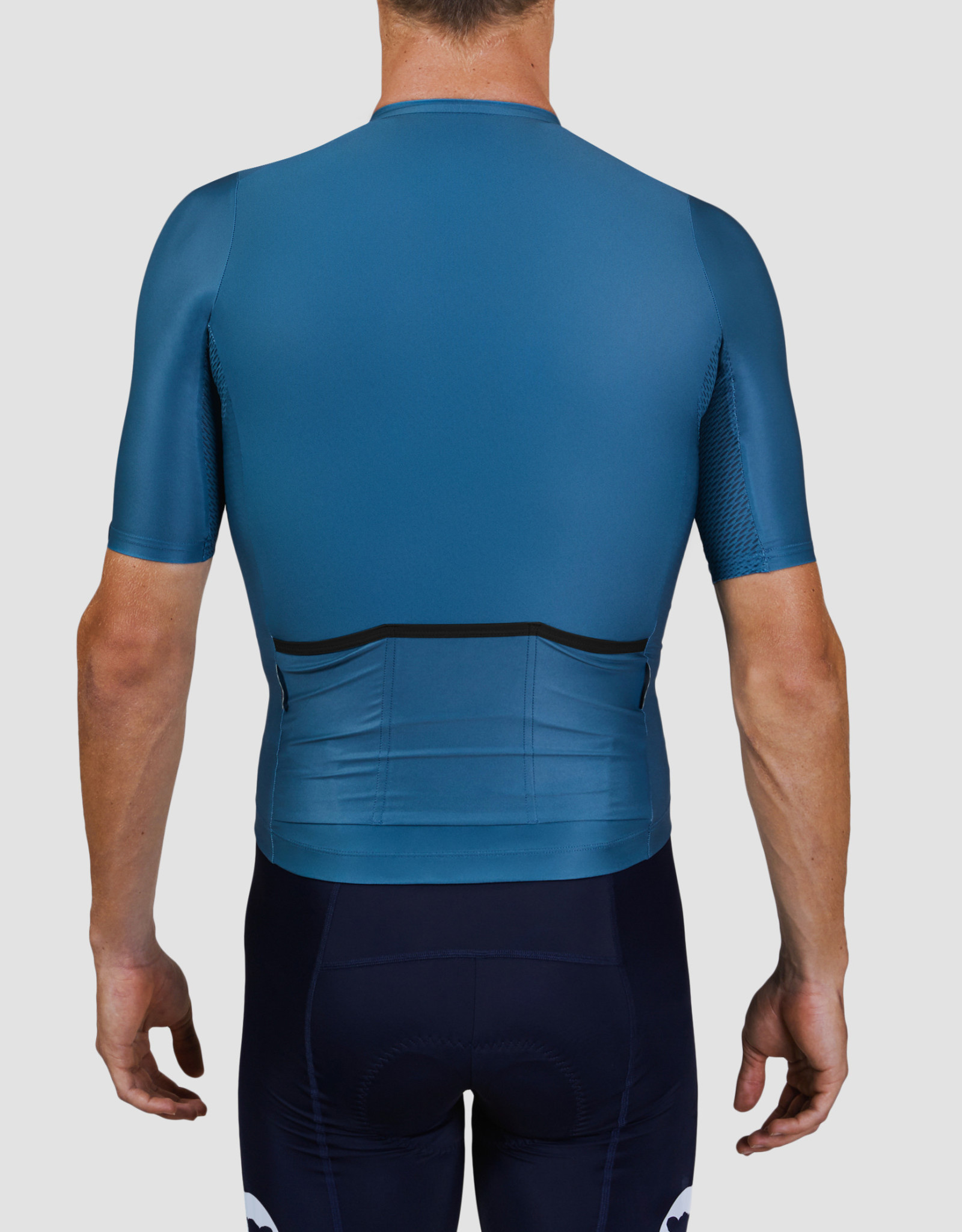 Black Sheep Cycling Men's Essentials TEAM Jersey - Block Stone