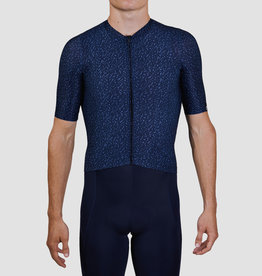 Black Sheep Cycling Men's Essentials TEAM Jersey - Texture Midnight