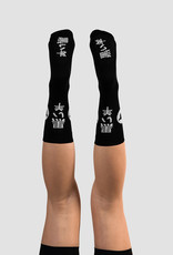 Black Sheep Cycling LTD Tokyo Socks - Black Kanji