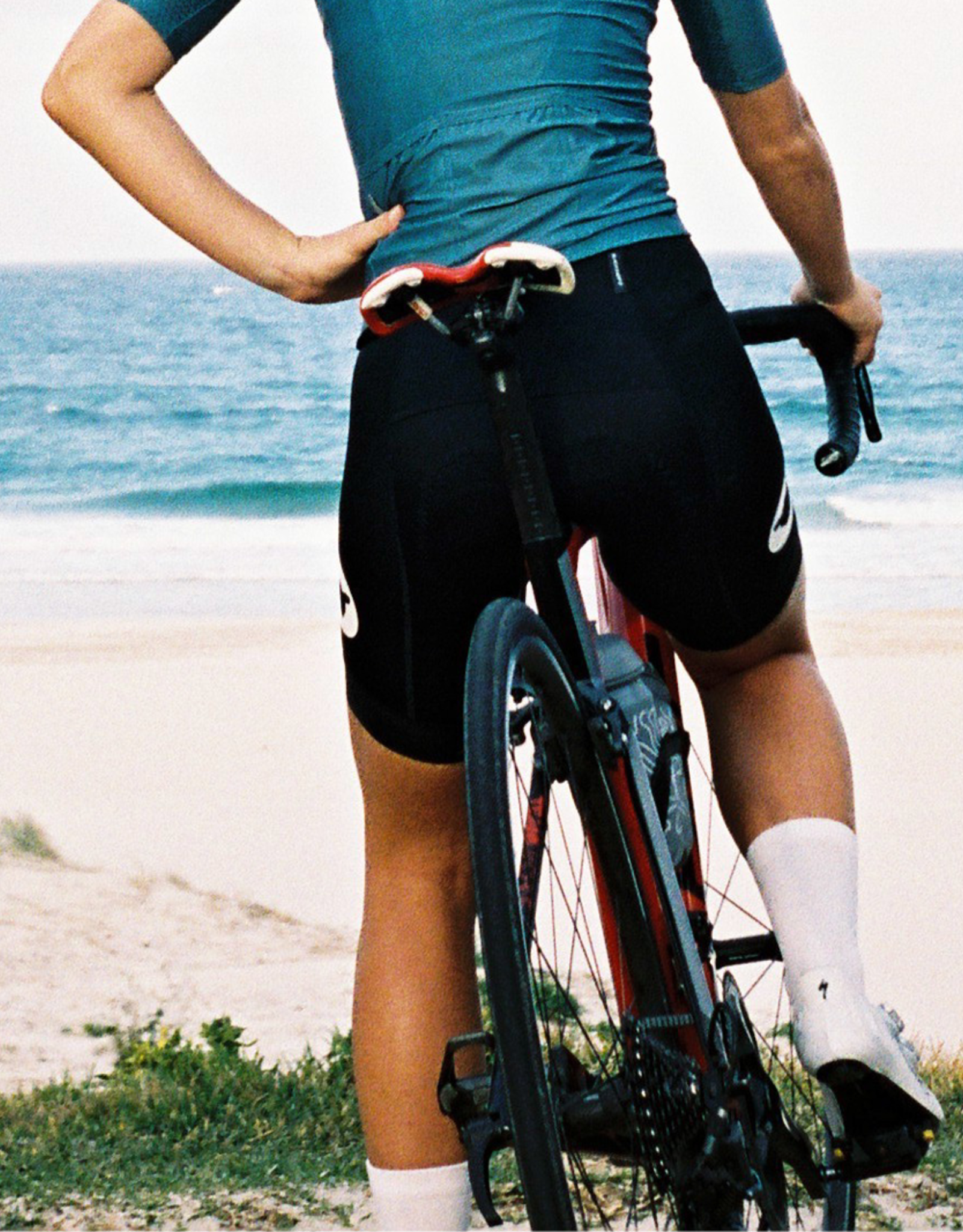 Black Sheep Cycling Women's Essentials TEAM Bib - Short Black