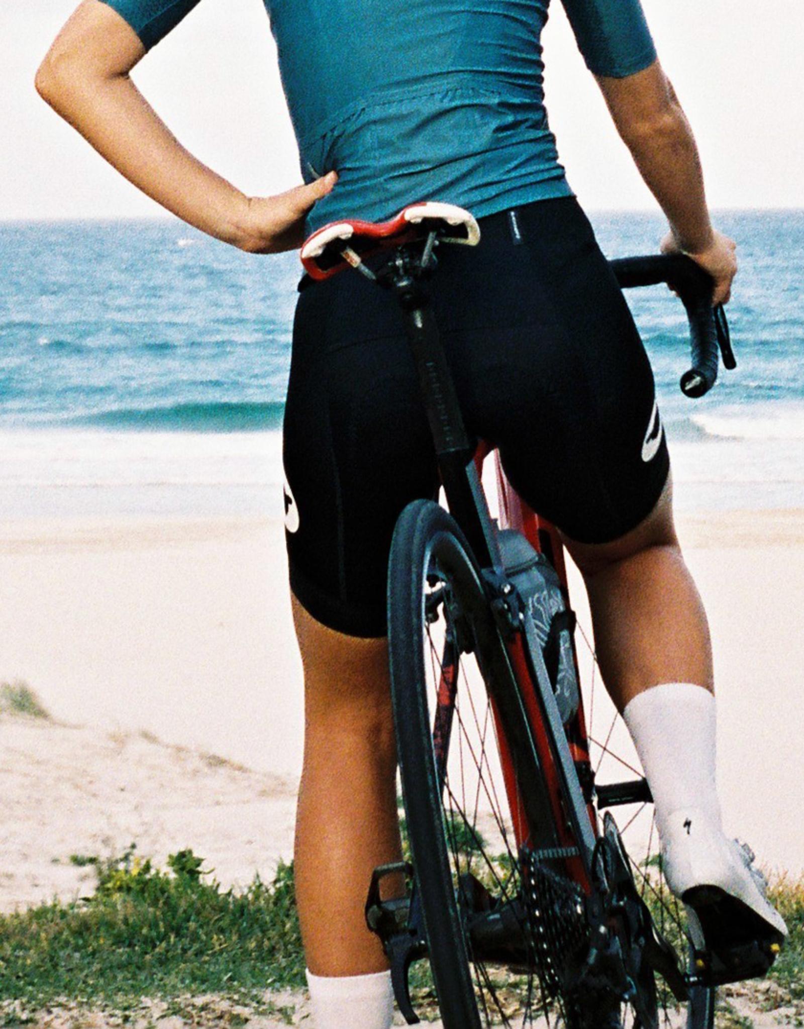 Black Sheep Cycling Women's Essentials TEAM Bib - Zwart