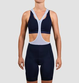 Black Sheep Cycling Women's Essentials TEAM Bib - Short Navy