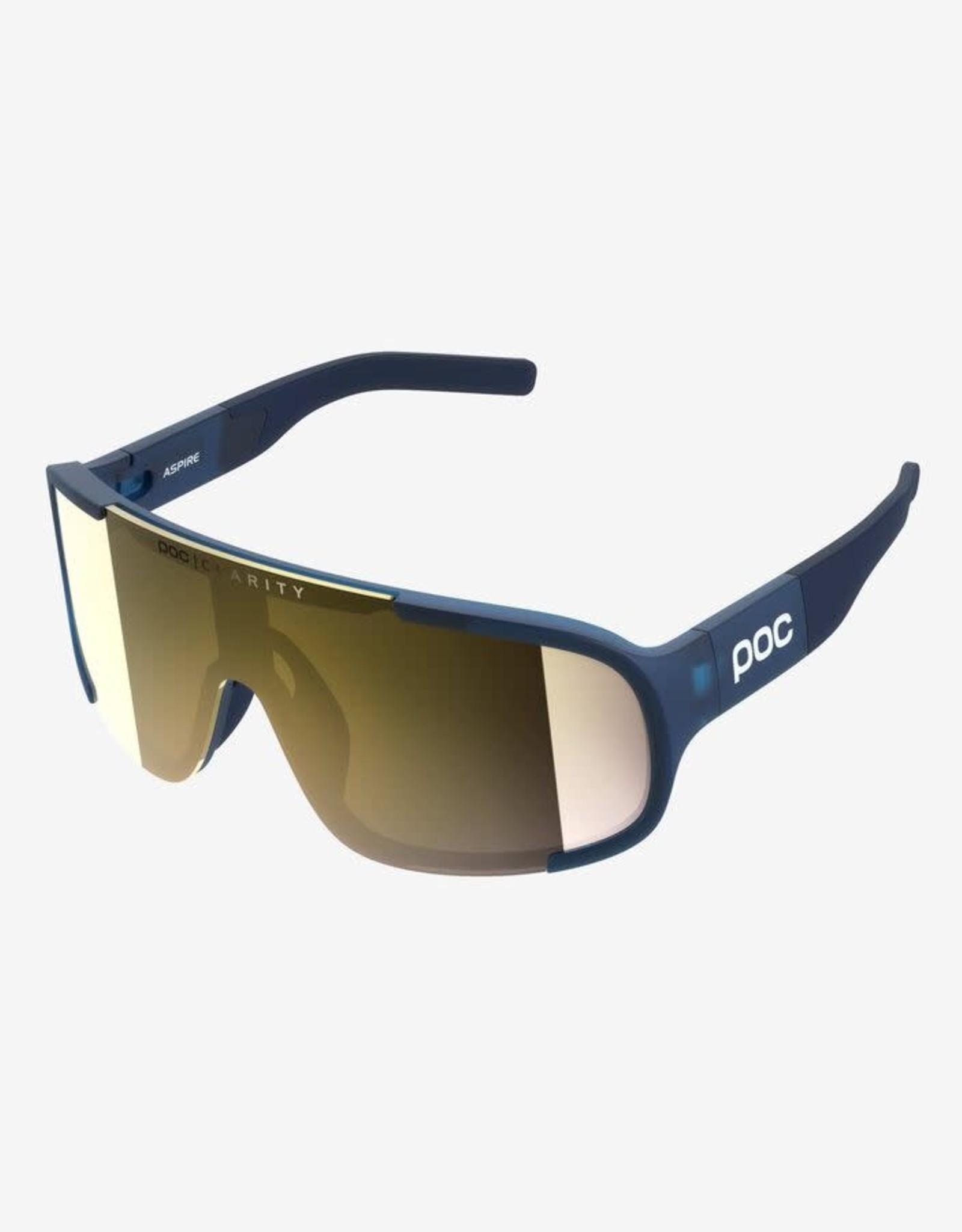 POC Cycling glasses Aspire - Lead Blue VGM