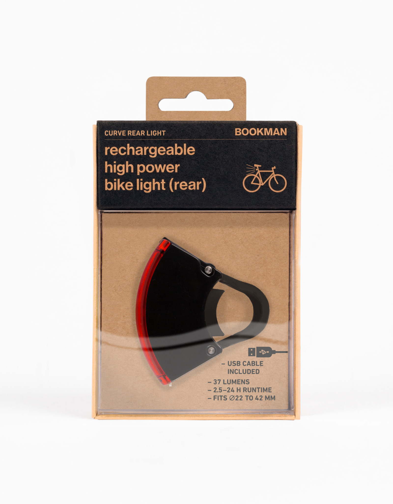 Bookman Curve rear light