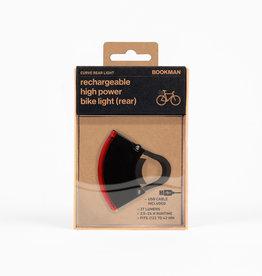 Bookman Curve USB-oplaadbaar achterlicht - zwart