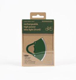 Bookman Curve USB-oplaadbaar voorlicht - groen
