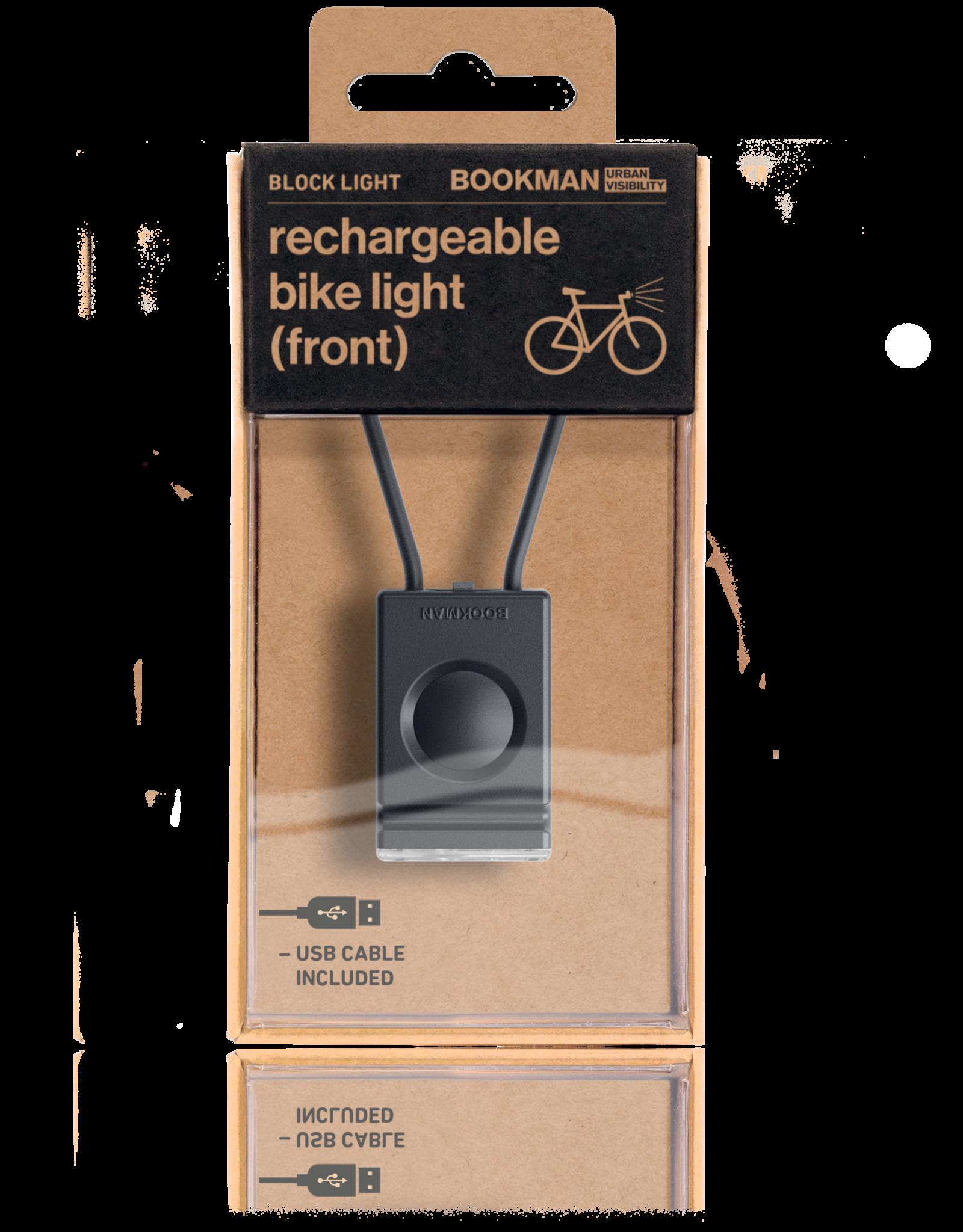 Bookman Block USB-oplaadbaar voorlicht