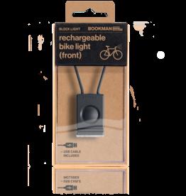Bookman Block USB-oplaadbaar voorlicht - Zwart