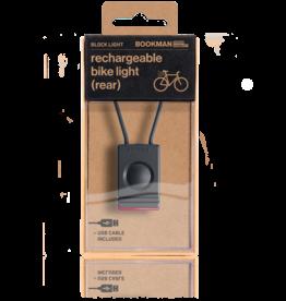 Bookman Block USB-oplaadbaar achterlicht - zwart