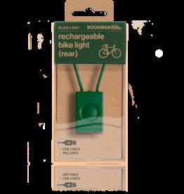 Bookman Block USB-oplaadbaar achterlicht - groen