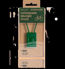 Bookman Block USB-oplaadbaar voorlicht - Groen