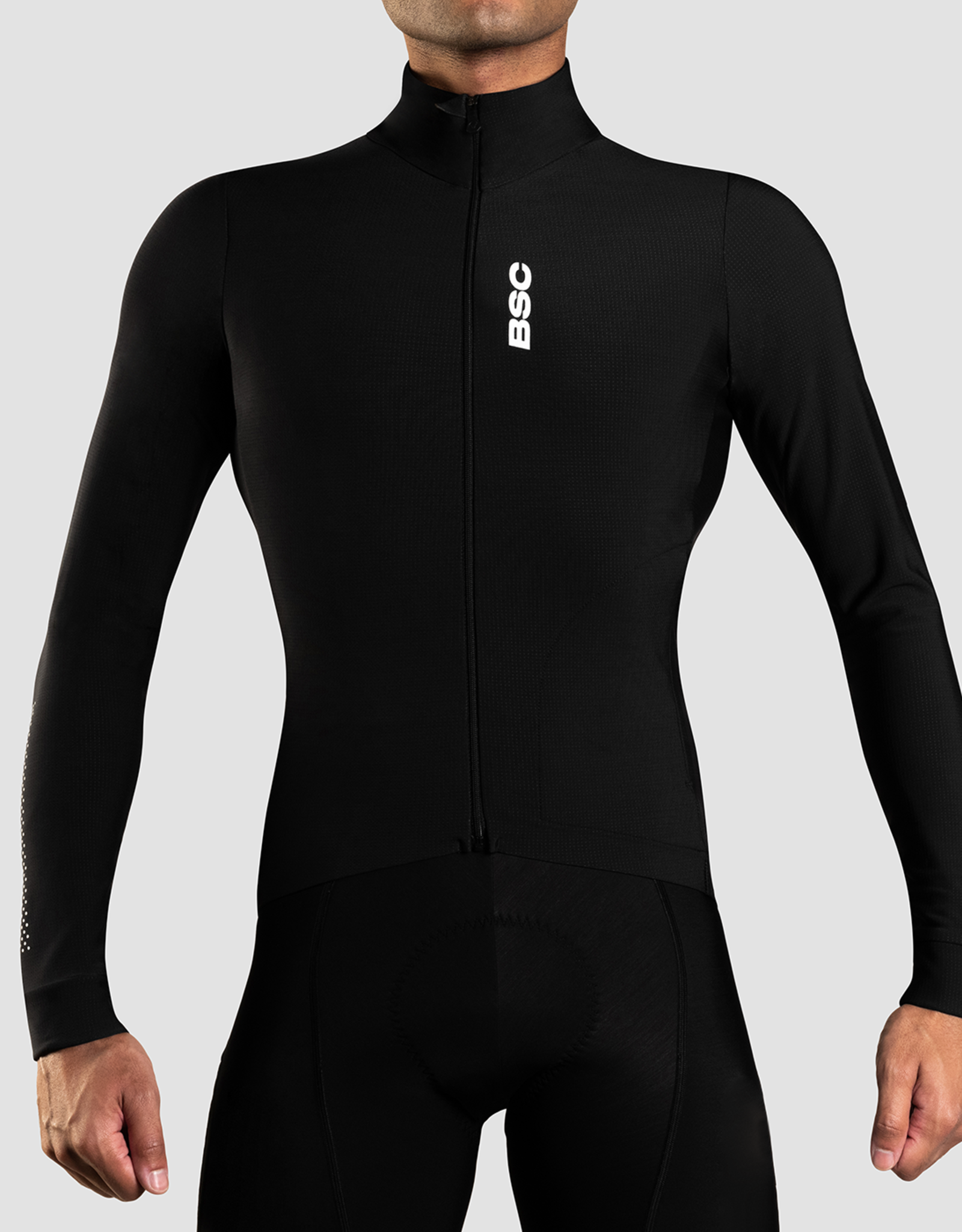 Black Sheep Cycling Men's Elements Thermal Jersey - Black
