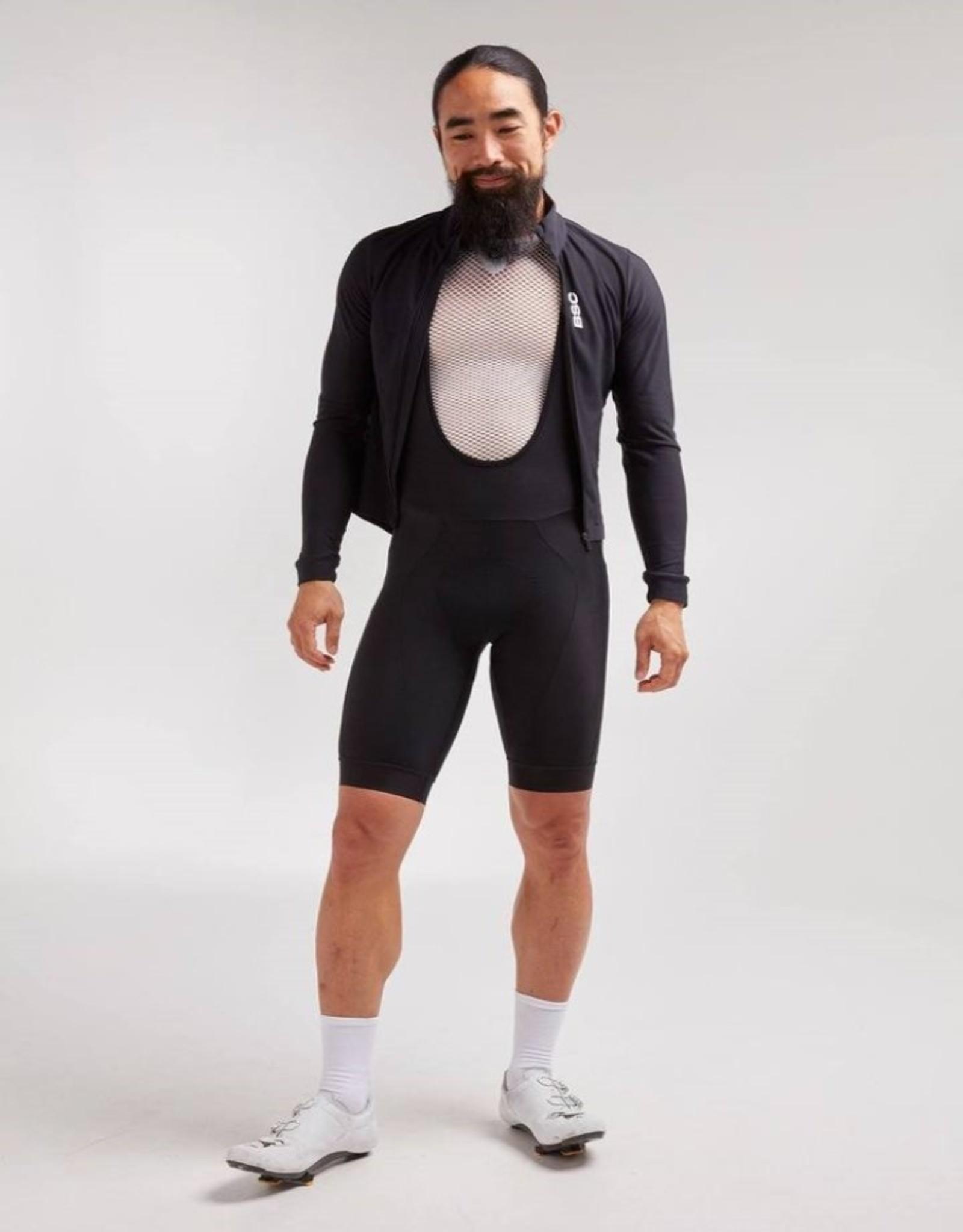 Black Sheep Cycling Men's Elements Thermische fietsjas - Black