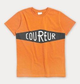 T-shirt Coureur - oranje
