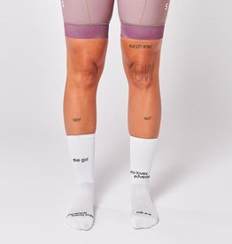 """Fingerscrossed Cycling socks """"The girl who loves adventure"""""""
