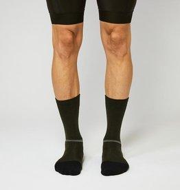 Fingerscrossed Merino Cycling Socks - Olive Green