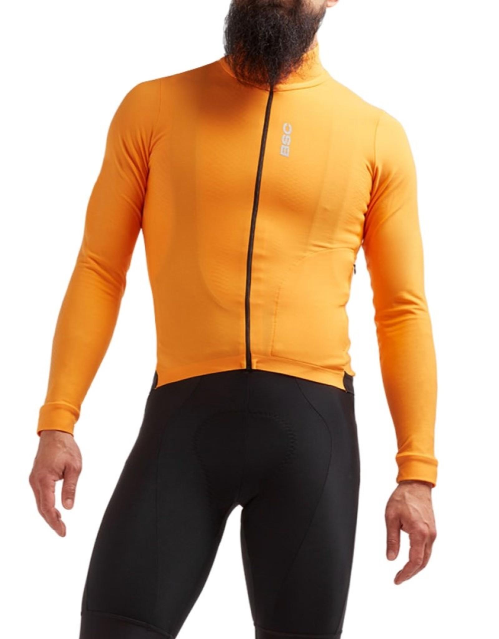 Black Sheep Cycling Men's Elements Thermische fietsjas - Oranje