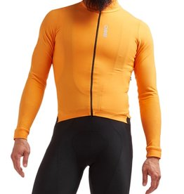 Black Sheep Cycling Men's Elements Thermal Jersey - Orange