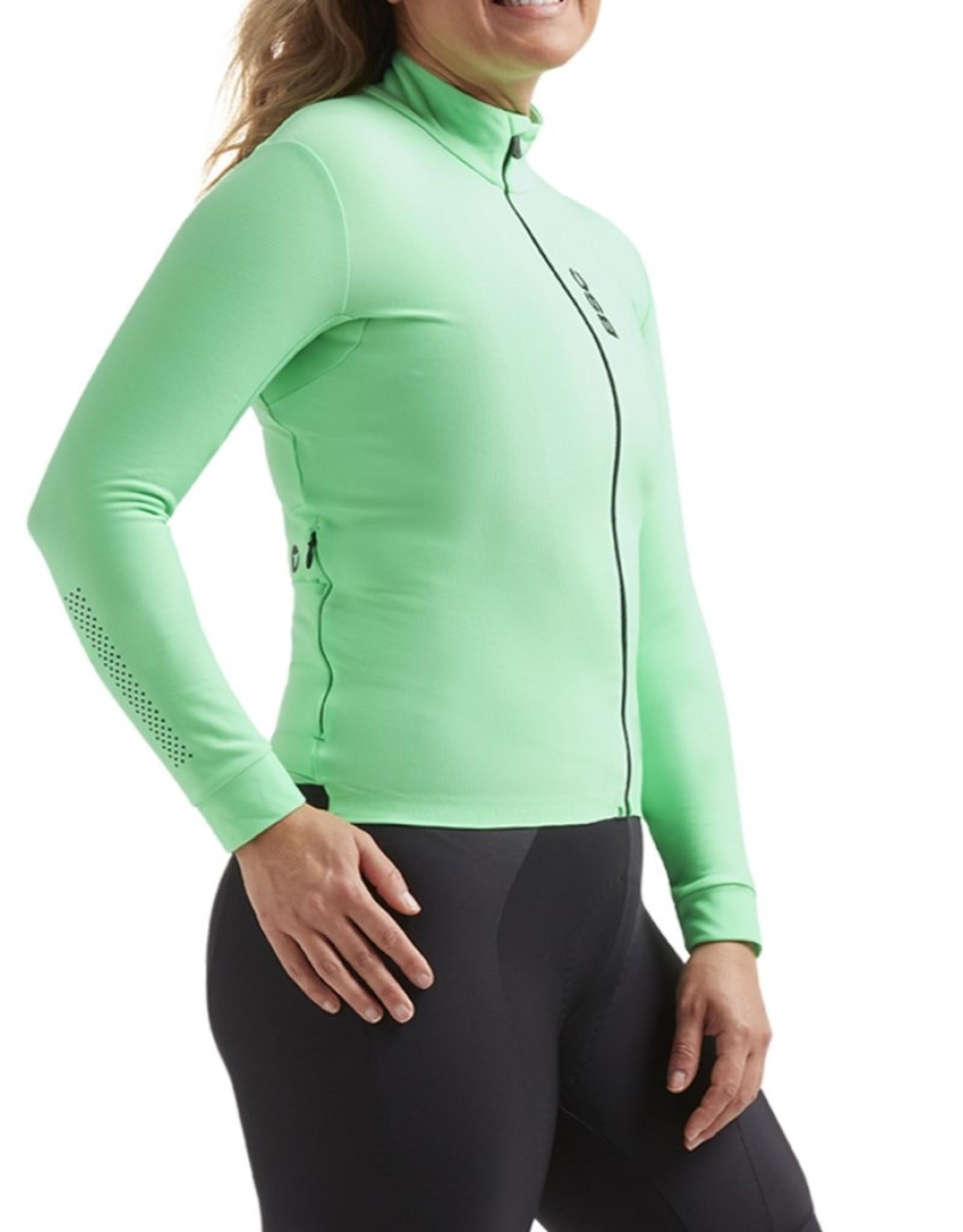 Black Sheep Cycling Women's Elements Thermische fietsjas - Groen