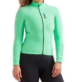 Black Sheep Cycling Women's Elements Thermal Jersey - Green