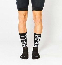 """Fingerscrossed Cycling socks """"Hell yeah"""" 2.0 - Zwart #666"""