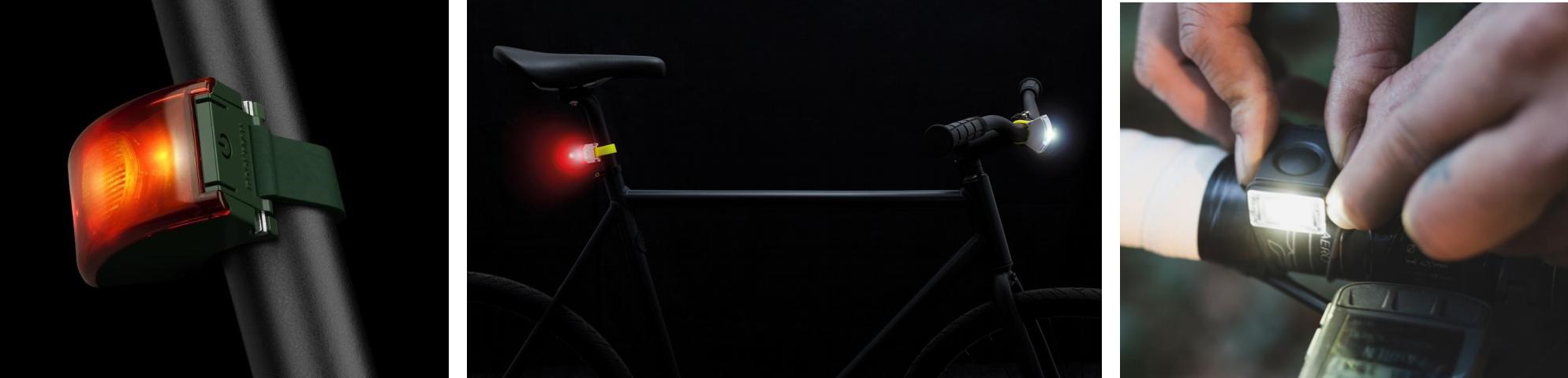 USB oplaadbare fietsverlichting Bookman
