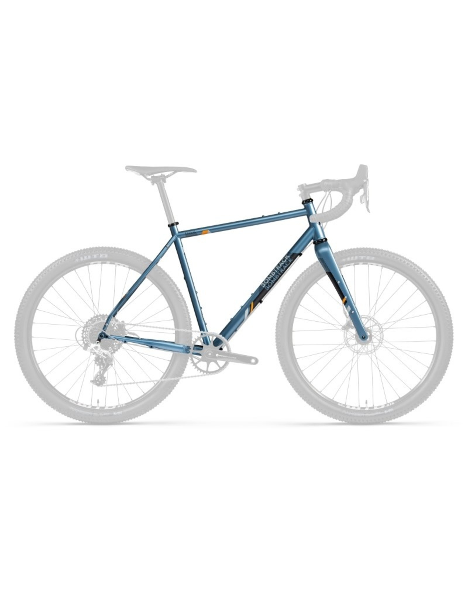 Bombtrack Hook EXT frameset - glossy metallic blue