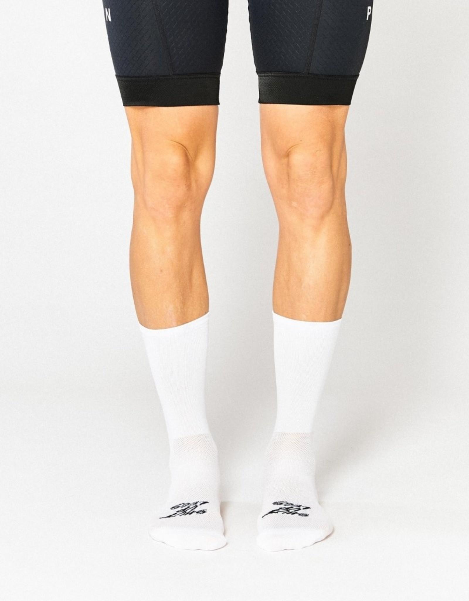 Fingerscrossed Fietssokken Shut Up Legs - white