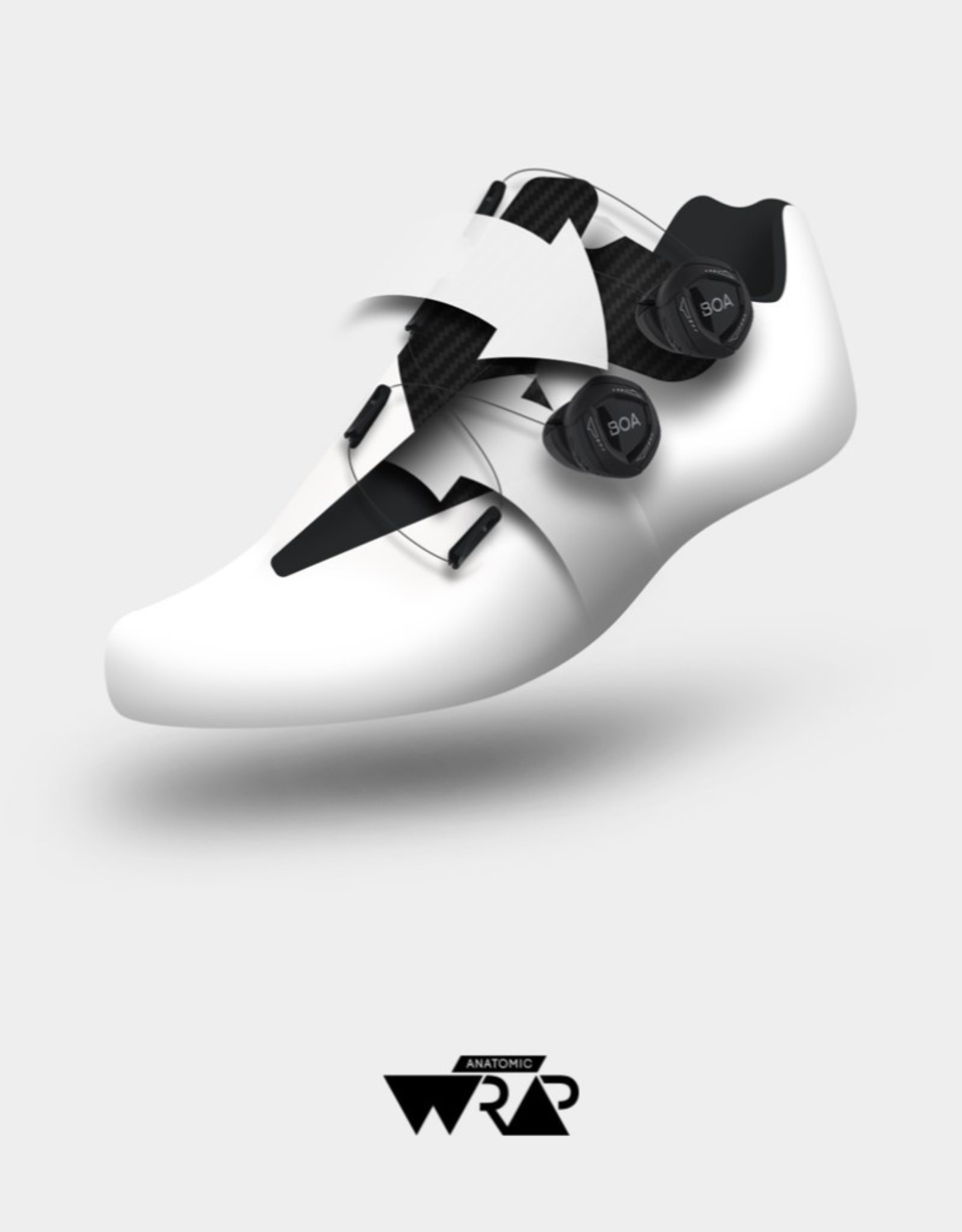 Suplest Cycling shoes EDGE+ Road Sport - white/black
