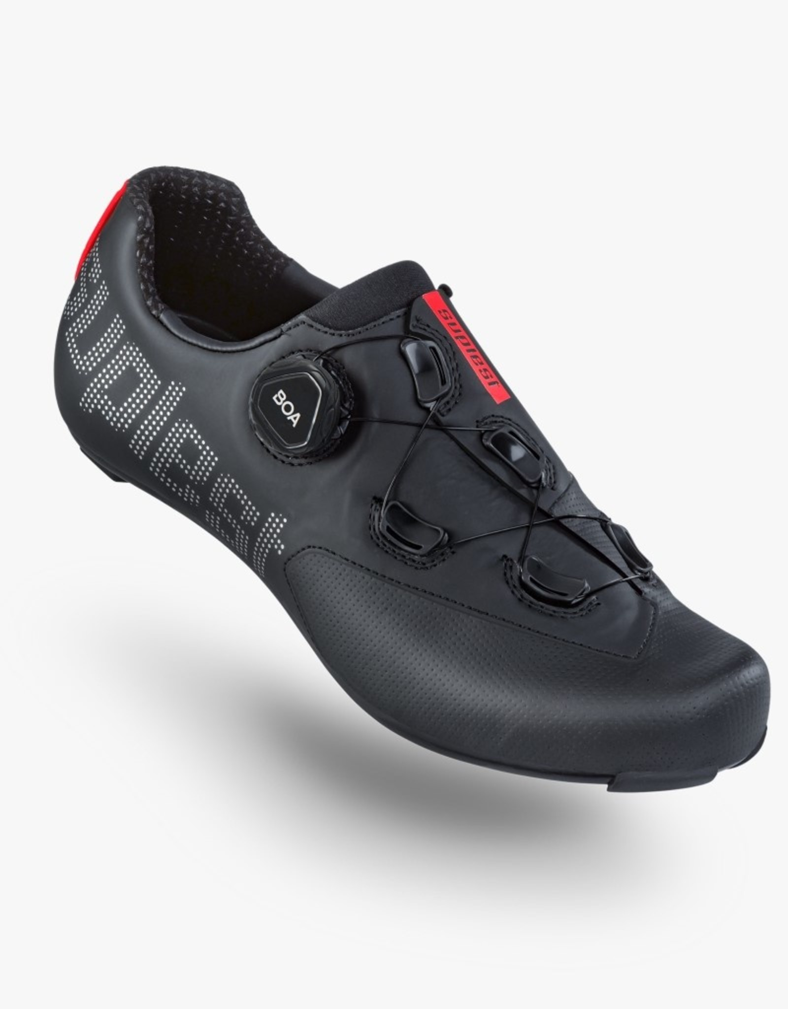 Suplest Cycling Shoes EDGE+ Road Sport - black/silver