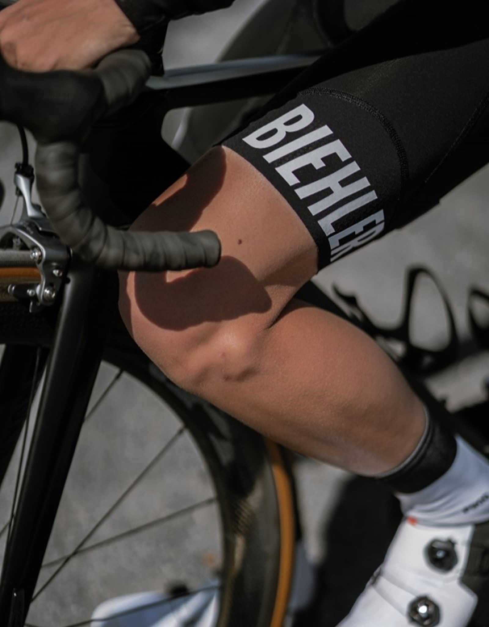 Biehler Essential Bib Shorts Black - White