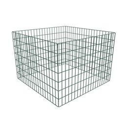 vidaXL Compostbak vierkant 100x100x70 cm mesh