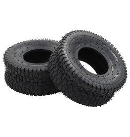 vidaXL Kruiwagenbanden 2 st 15x6.00-6 4PR rubber
