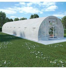 vidaXL Kas met stalen fundering 36 m² 1200x300x200 cm