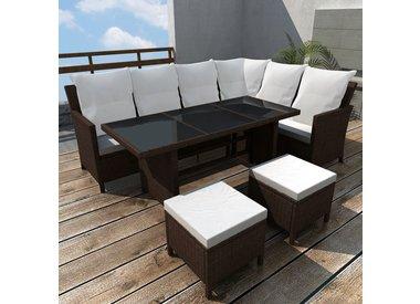 4 delige lounge set