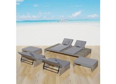 5 delige lounge set
