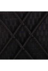 vidaXL 3-delige Ligbeddenset poly rattan zwart