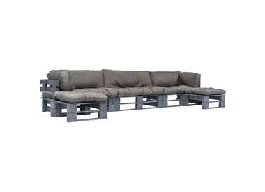 6 delige lounge set