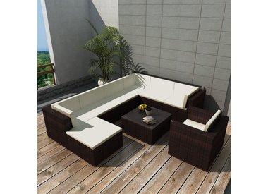9 delige lounge set