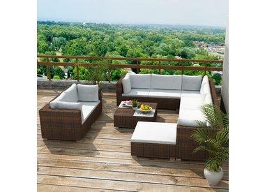 10 delige lounge set